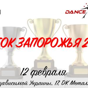 12 февраля Кубок Запорожья 2017 Открытый всеукраинский турнир